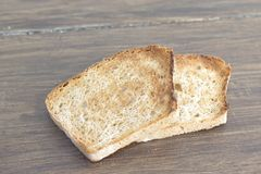 Appetizing baked bread Stock Photography