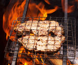 Appetizing  barbecue Royalty Free Stock Image