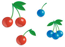 Appetizing berries Royalty Free Stock Photography