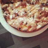 Appetizing berry pie Stock Photo