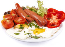 Appetizing breakfast Stock Image
