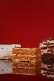 Appetizing cakes Stock Photos