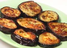 Appetizing dietetic aubergines Stock Images