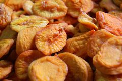 Appetizing dried figs Stock Images