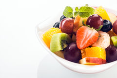 Appetizing fresh fruit salad Royalty Free Stock Photography