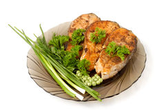 Free Appetizing Fried Salmon Stock Photos - 937123