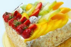 Appetizing fruit pie Stock Images
