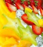 Appetizing fruit pie Royalty Free Stock Photo