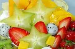Appetizing fruit pie Stock Image