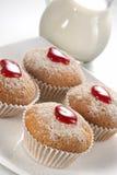 Appetizing fruitcakes Stock Photography