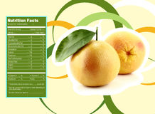 Appetizing grapefruit nutrition facts Stock Photo