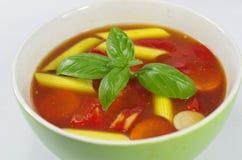 Appetizing gulash soup Royalty Free Stock Photo