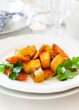 Appetizing and healthy vegetarian food Royalty Free Stock Photography