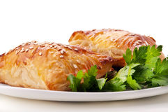 Appetizing homemade bake Stock Images
