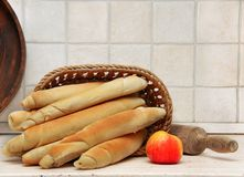 Appetizing homemade bread Royalty Free Stock Photos