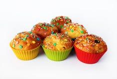 Appetizing homemade cupcakes Stock Photo