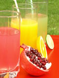 Appetizing juices Stock Photo