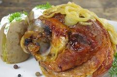 Appetizing knuckles of pork Stock Image