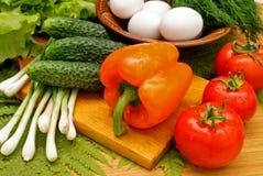 Appetizing Light Vegetables Snack Stock Images