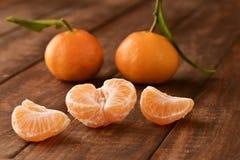 Appetizing mandarin oranges Stock Images