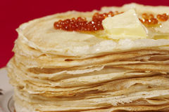 Appetizing pancake Royalty Free Stock Photo