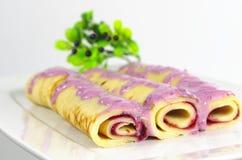 Appetizing pancake Stock Images