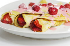Appetizing pancake Royalty Free Stock Images