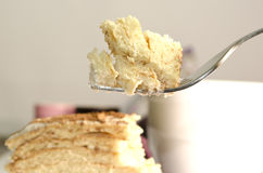 а piece of cake Royalty Free Stock Images