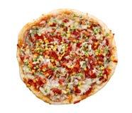 Appetizing pizza Stock Photography