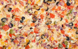 Appetizing pizza Stock Images
