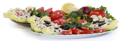 An appetizing platter Stock Photography