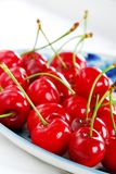 Appetizing red cherries Stock Photography
