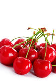 Appetizing red cherries Royalty Free Stock Image