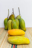 Appetizing ripe mango Stock Images