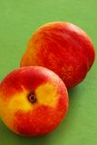 Appetizing ripe peaches Royalty Free Stock Image