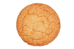 Appetizing round ruddy biscuits Royalty Free Stock Image