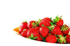 Appetizing strawberries Stock Photos