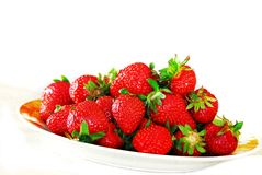 Appetizing strawberries Stock Images