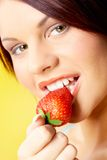Appetizing strawberry Royalty Free Stock Image