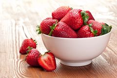 Appetizing strawberry. Stock Image