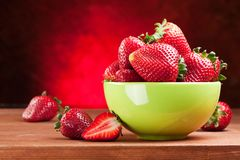 Free Appetizing Strawberry. Royalty Free Stock Photography - 23493237