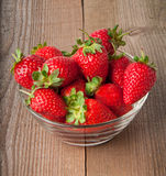 Appetizing strawberry Stock Images