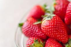 Appetizing strawberry Stock Photography