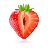 Appetizing strawberry Royalty Free Stock Photos