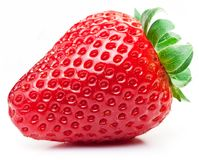 Free Appetizing Strawberry On A White. Royalty Free Stock Photo - 114284365