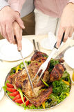 Appetizing turkey Royalty Free Stock Images
