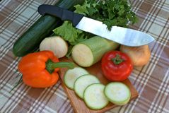 Appetizing vegetable Stock Images