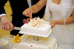 Appetizing Wedding Cake Royalty Free Stock Photography