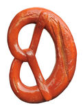 Appetizing wooden model of pretzel Royalty Free Stock Images