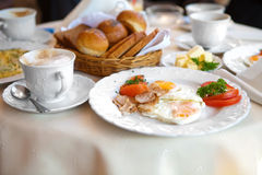 Appetizing yummy breakfast Stock Photography